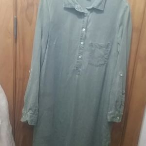 Set of two OLD NAVY long sleeve shirt dresses
